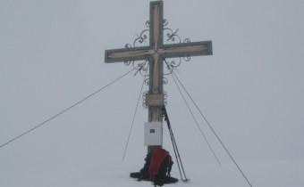 Gipfelkreuz Weißspitze