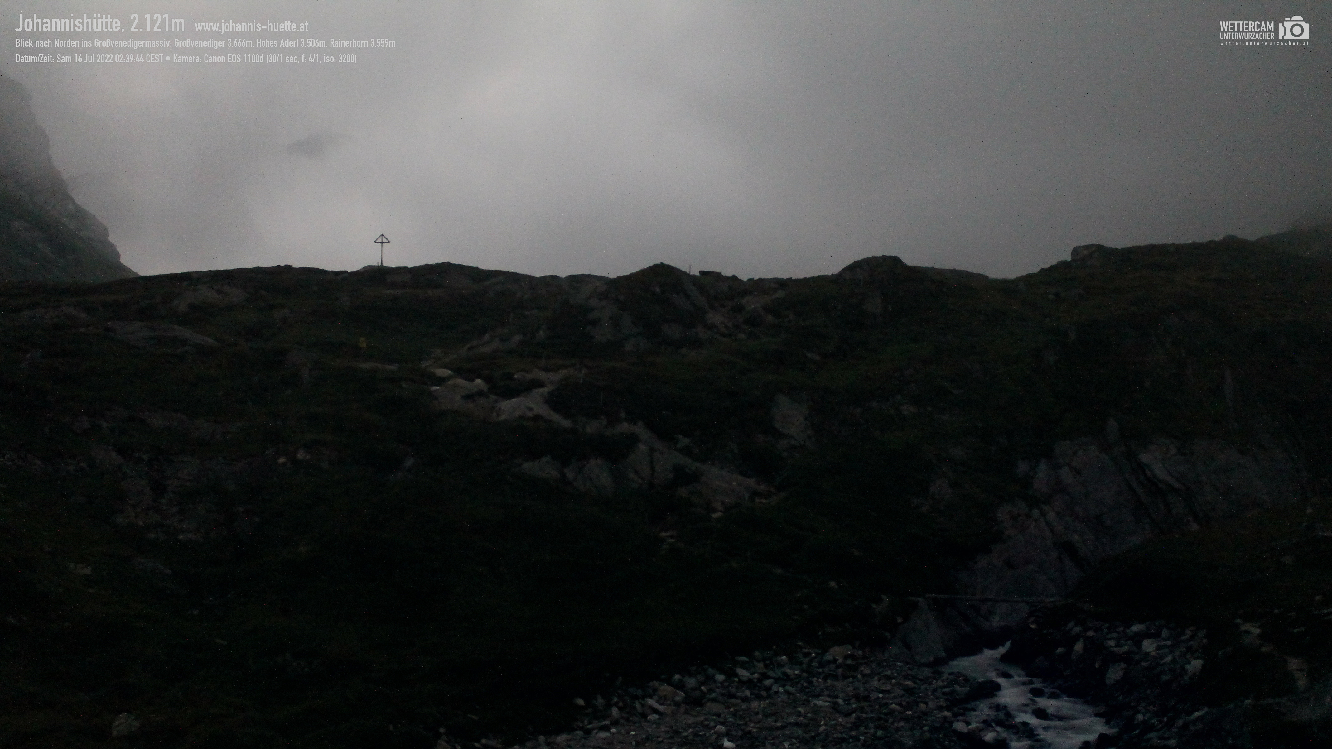 Webcam Johannis-Hütte 2.121 m | Venedigergruppe in Osttirol