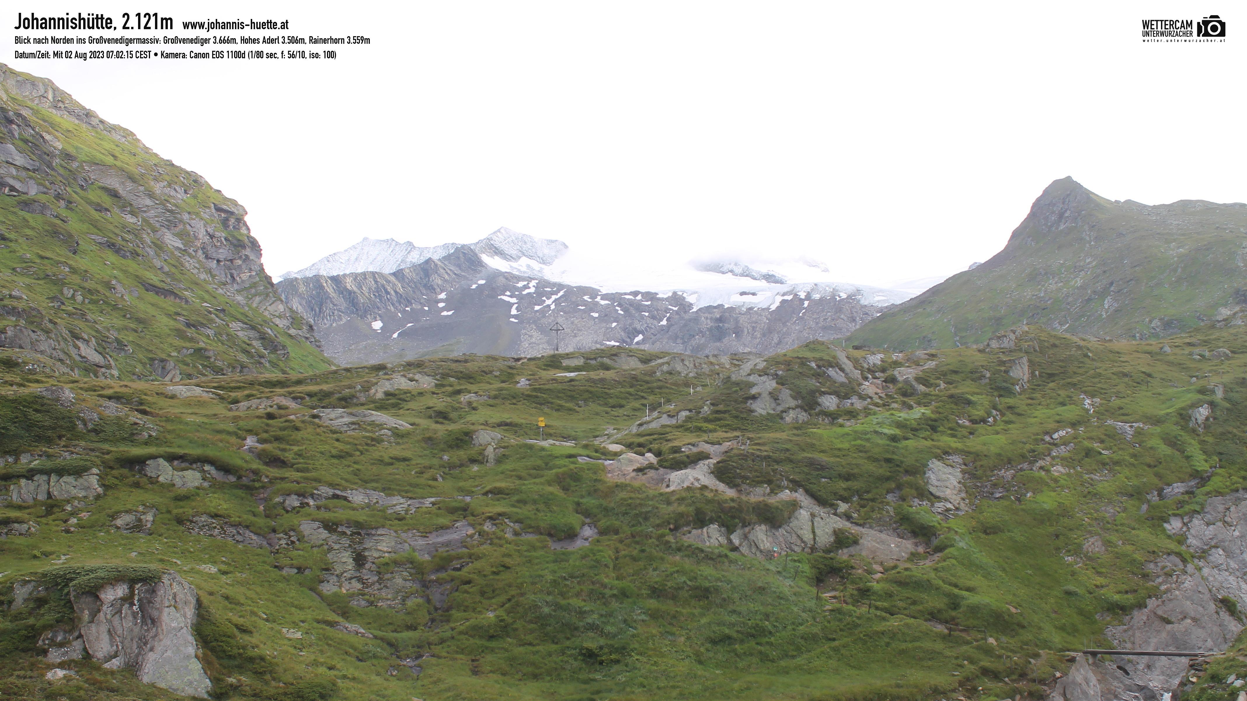 Webcam Johannis-Hütte 2.121 m | Osttirol