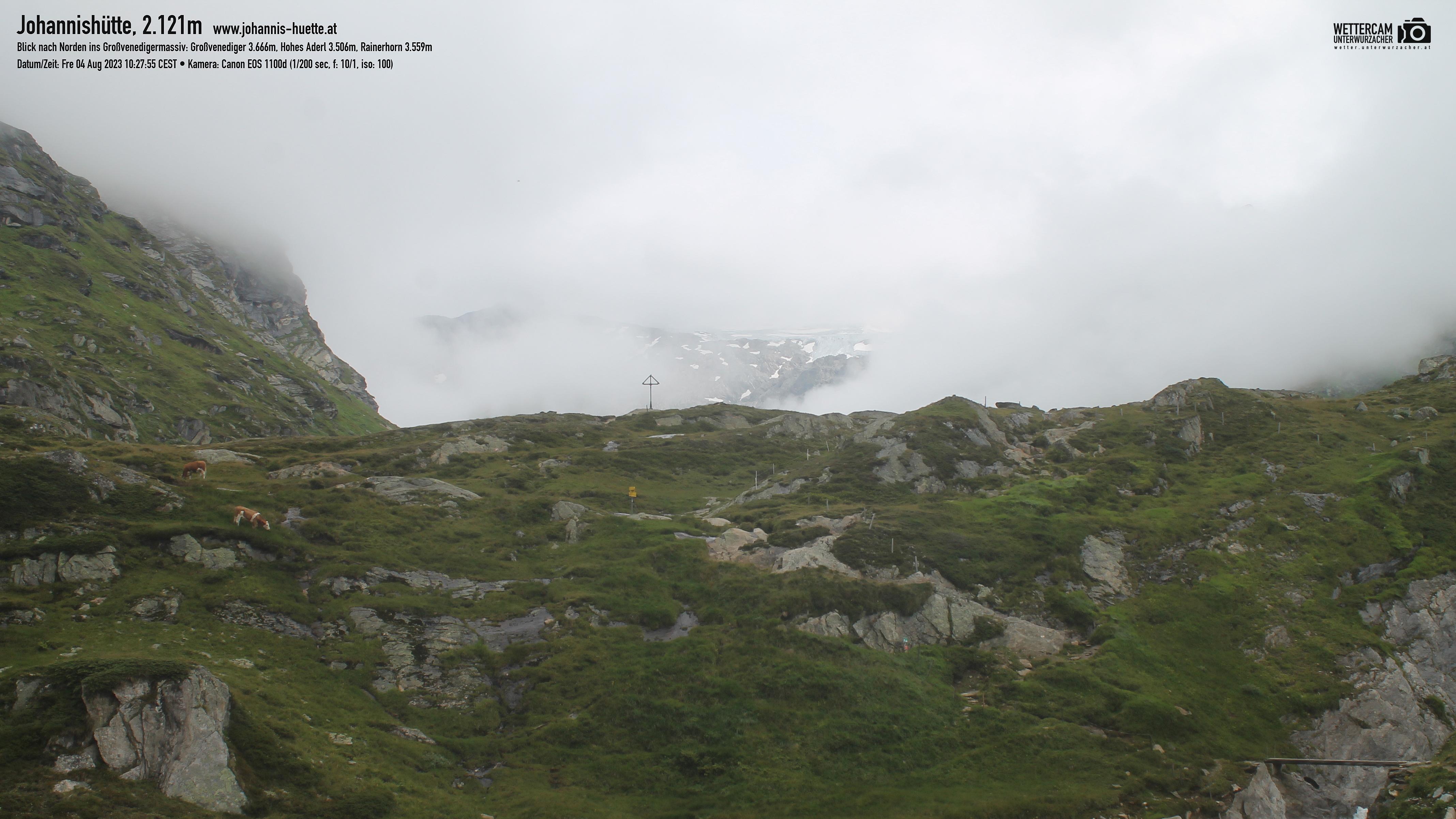 Webcam Johannis-Hütte 2.121 m   Osttirol