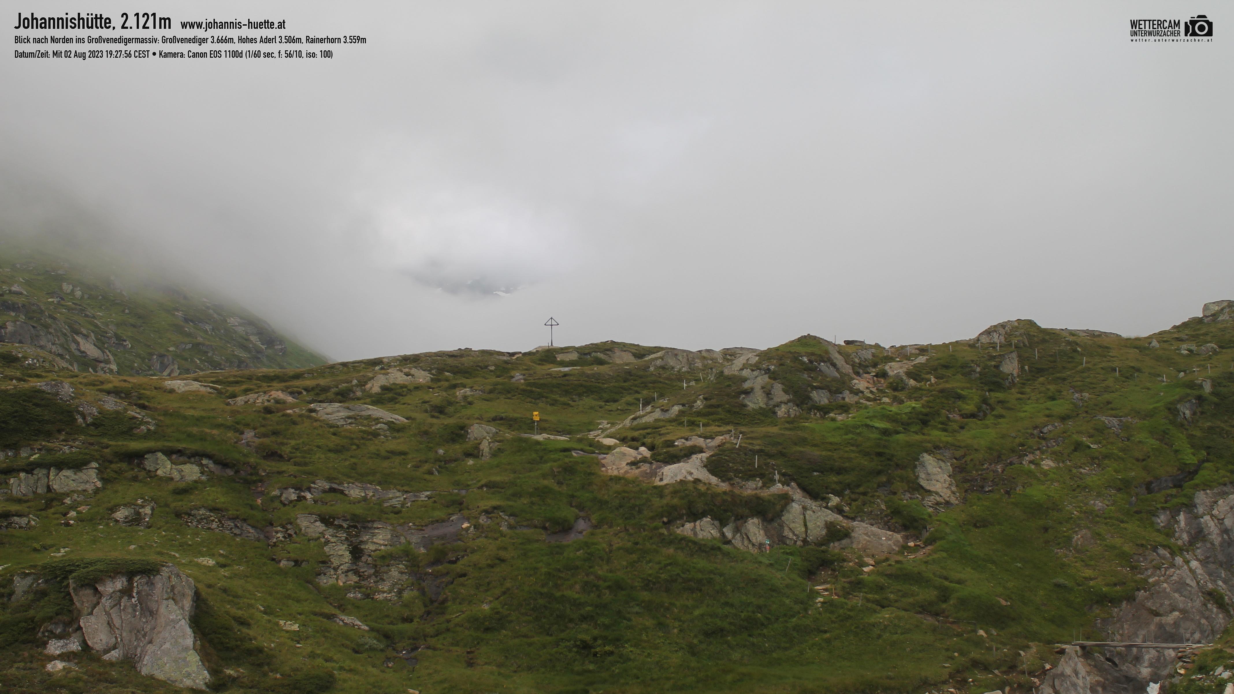 Webcam Johannis-Hütte 2.121 m - Osttirol   © www.grossvenediger.at