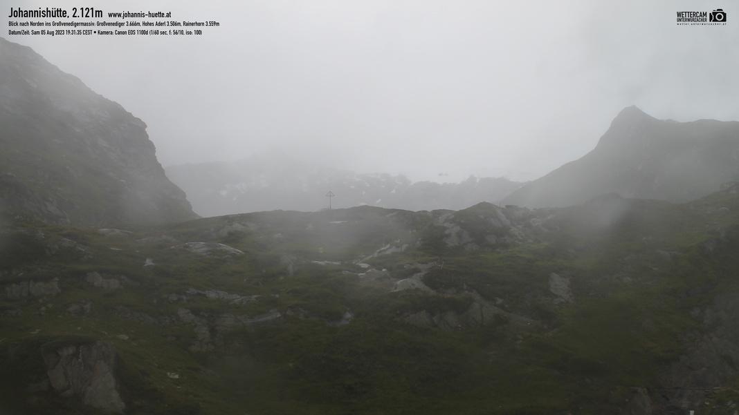 Webcam Hütte - Richtung Norden