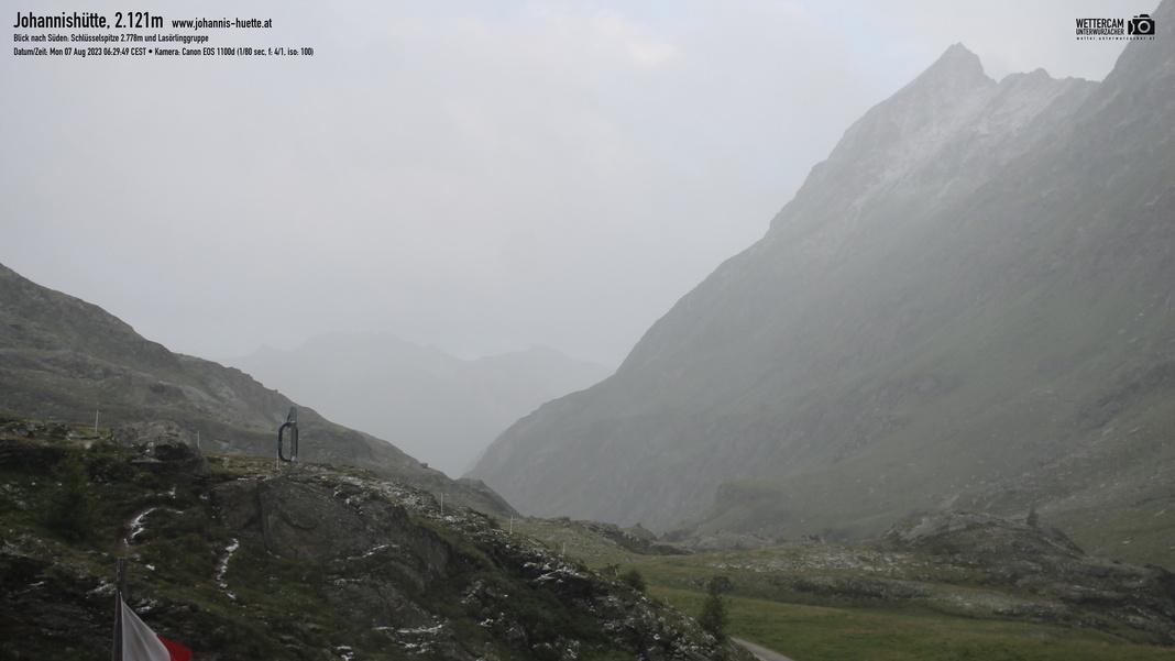 Webcam Johannis-Hütte 2.121 m - Osttirol | © www.grossvenediger.at